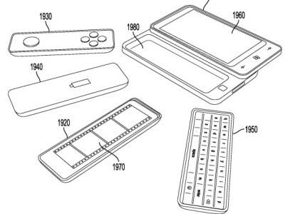 В microsoft придумали мультислайдер: телефон с автономными присоединяемыми аксессуарами