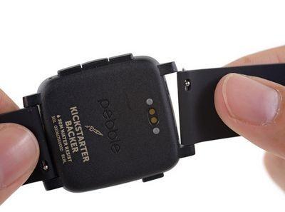 В pebble time установлен аккумулятор на 150 мач