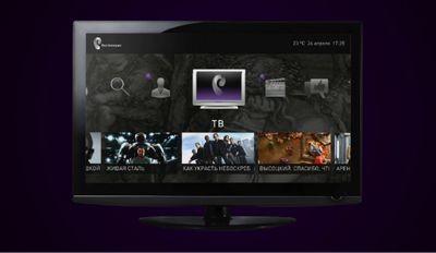 В россии запустили интерактивное телевидение в магазине