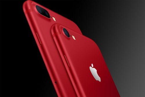 В украине можно будет приобрести красный iphone 7