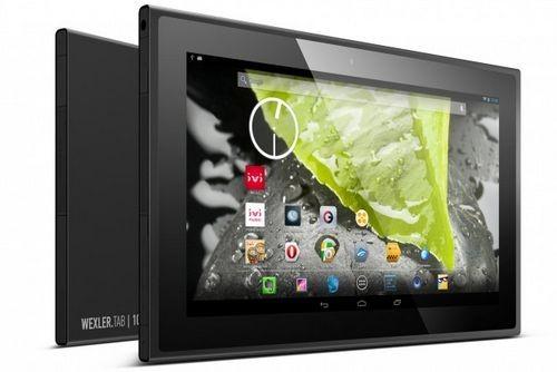 В украине стартовали продажи планшета wexler.tab 10iq