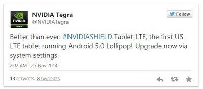 Владельцы nvidia shield tablet уже могут оценить android 6.0