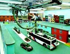 Vmt: игрушечный автобус следует со всеми остановками