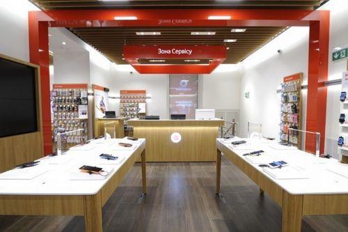 Vodafone открывает новые магазины в 5 городах украины