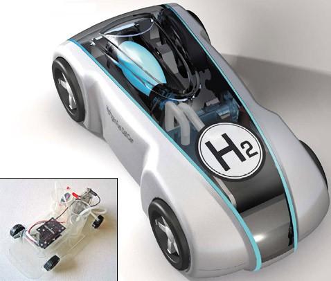 Водородный гонщик на пути к хозяину обгонит автомобили будущего