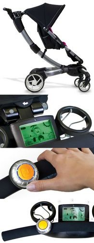 Впродажу поступила роботизированная детская коляска