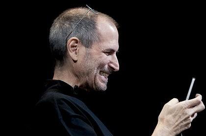 Выпуск ios 4.0.1 в ближайшее время может решить проблемы с приемом в iphone 4