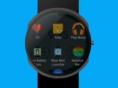 Wear mini launcher 3.0 приносит material design на приложение-компаньон