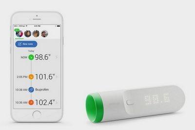 Withings thermo измерит температуру одним касанием
