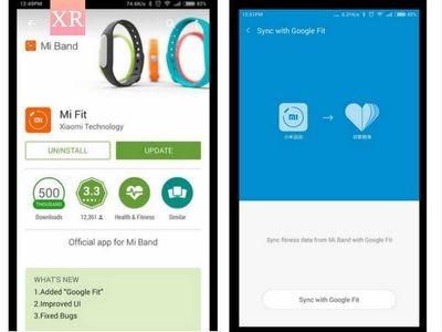Xiaomi mi band теперь поддерживает google fit