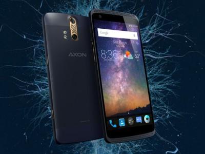 Zte будет выпускать топовые смартфоны под брендом axon